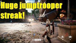 Star Wars Battlefront 2 - Viewer challenge: Beat his Jumptrooper killstreak! Clone JT is GOOD!