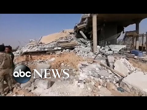 US Military Conducts Strikes On Militia Groups In Iraq And Syria L ABC News