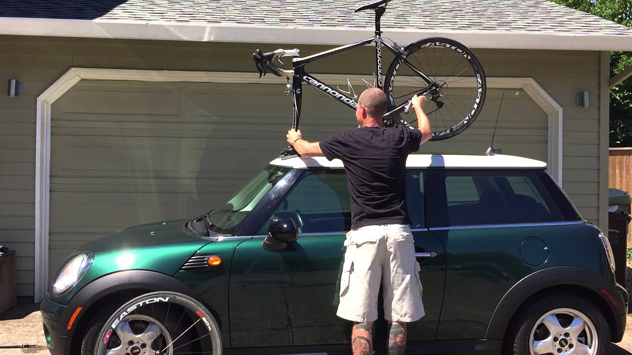 Mini Cooper Bike Rack