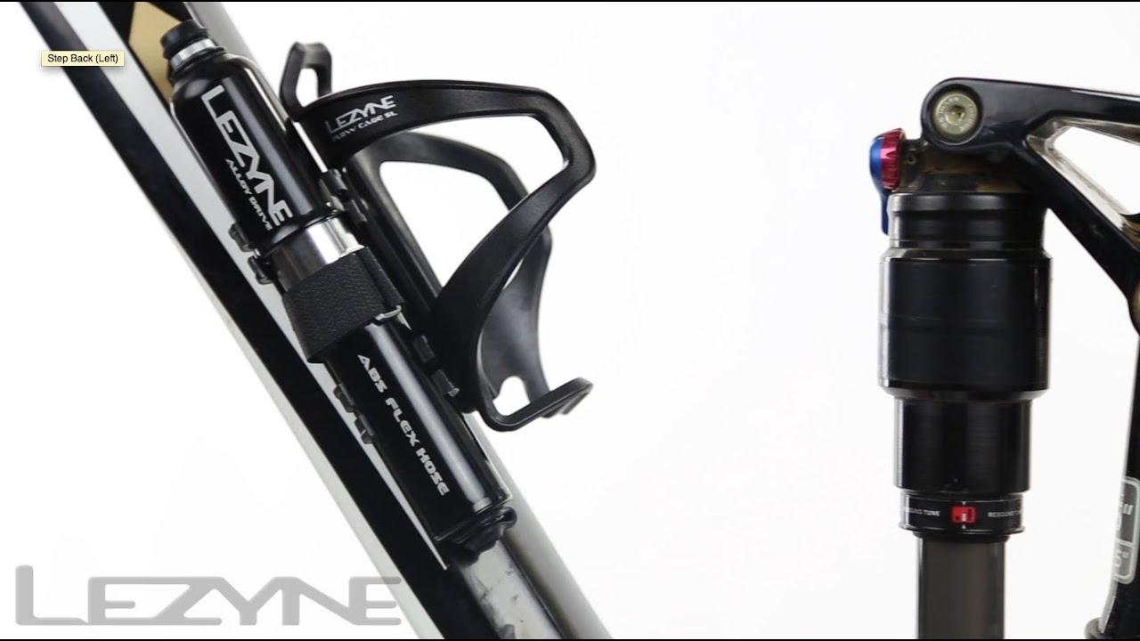 Lezyne Cyclisme Alliage Drive M violet Vélo Pompe à main ABS