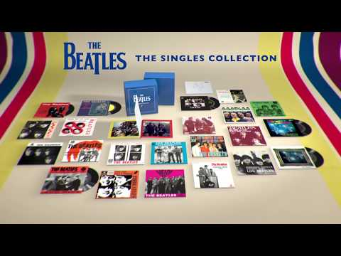 Monica Lowe  - The Beatles-The Singles Collection newly remastered 7-inch vinyl singles.