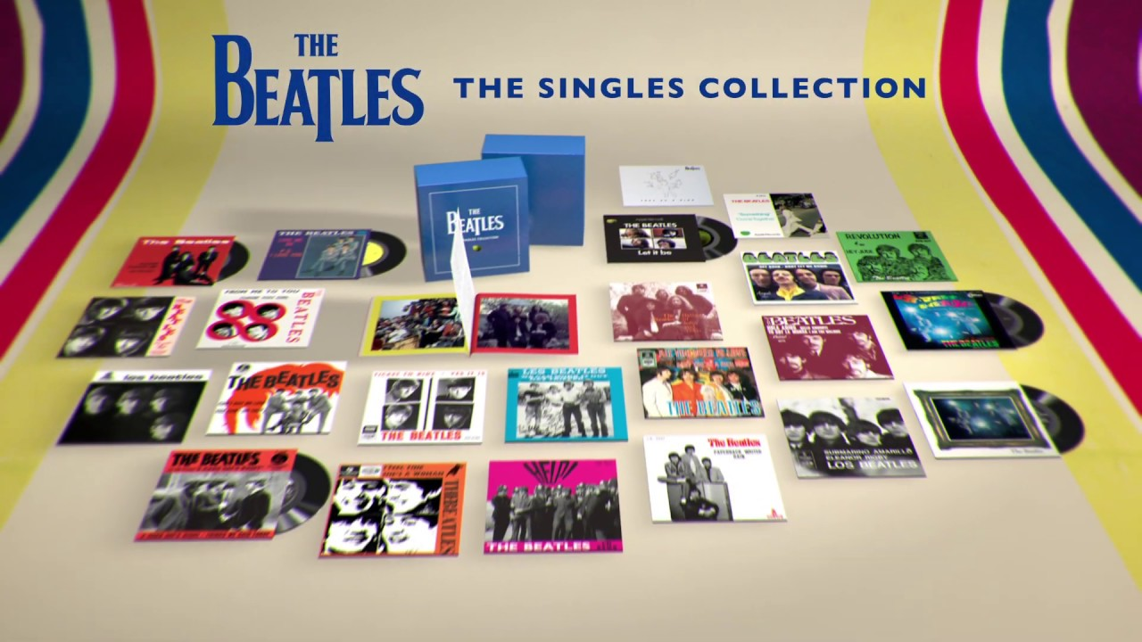 Resultado de imagem para The Singles Collection the beatles