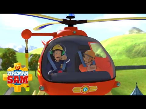 Fireman Sam US NEW Episodes - Best Helicopter Rescues | Season10 🚒 🔥