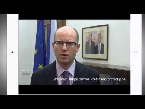 Bohuslav Sobotka: Towards a New Europe