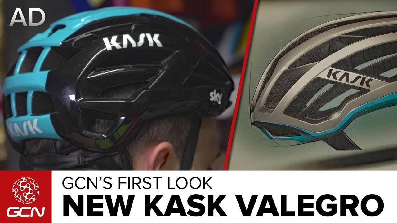 a9a4415eca2 NEW Kask Valegro Cycle Helmet - GCN s First Look - YouTube