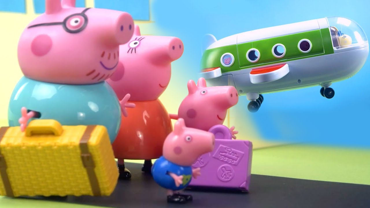 Download Peppa Pig Official Channel | Peppa Pig's Surprise Holiday | Peppa Pig Stop Motion