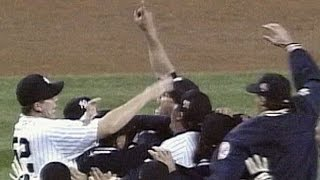 1996 WS Gm6: The Yankees win the World Series
