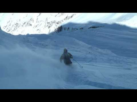 A Perfect Powder day on the Grands Montets