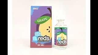 Grape Reds Apple Iced Juice By Vape 7 Daze E Liquid Review I Breazy.com