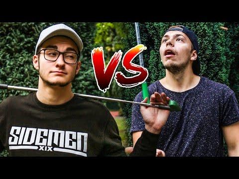 MINIGOLF CHALLENGE – LUCAS VS LARS !!