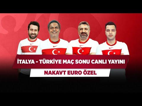 İTALYA - TÜRKİYE MAÇ SONU CANLI | Serdar Ç. & Ali E. & Mustafa D. & Yağız S. | Nakavt