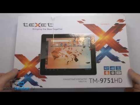 Распаковка TeXet TM-9751HD: планшет на Android с экраном Retina