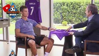 Entrevista exclusiva de Josep Pedrerol a Cristiano Ronaldo, COMPLETA