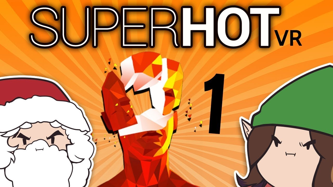 Superhot VR: Paying Attention - PART 1 - Game Grumps