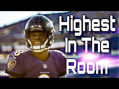 "Lamar Jackson Ft. Travis Scott ||""Highest In The Room""
