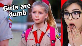 Boy Scout Makes Fun Of Girl Scout