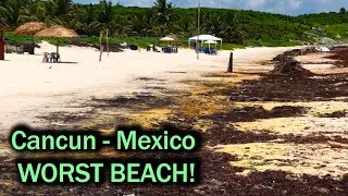 Cancun Mexico - Worst Beaches Ever!