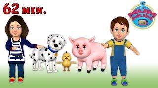 Old MacDonald had a Farm E-I-E-I-O | English Nursery Rhymes and Songs for Children | Mum Mum TV