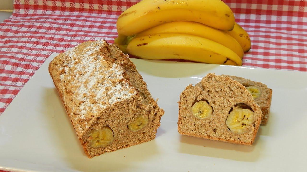 c u00f3mo hacer pan dulce integral sin amasado relleno de pl u00e1tano  bread banana