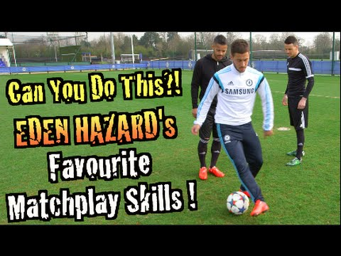 Eden Hazard's Favorite Matchplay Skills! Can You Do This?!