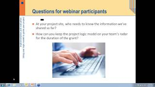 Implementation and Evaluation: Using Your Logic Model to Guide Your Project, March 11, 2013