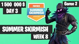 Fortnite Summer Skirmish Week 8 Day 3 Game 2 Highlights PAX WEST