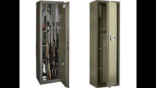 Взломостойкие оружейные сейфы Valberg. Видео обзор модельного ряда на примере модели Сафари EL.