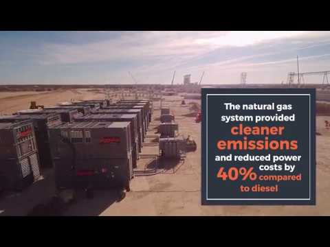 Aggreko Helps Texas Frac Sand Mines Speed to Market with Natural Gas Power