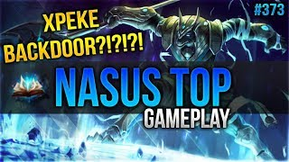 Nasus (Top): XPEKE BACKDOOR ?!?!?! #373 [Lets Play] [League of Legends] [German / Deutsch]