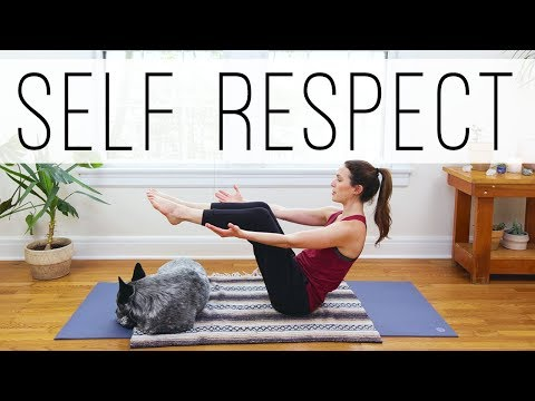 20 Min Yoga For Self Respect  |  Yoga With Adriene
