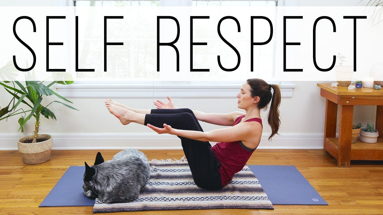 Download Yoga For Self Respect     20 Minute Practice    Yoga With Adriene