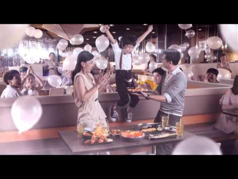 Oishi Buffet TVC 2014