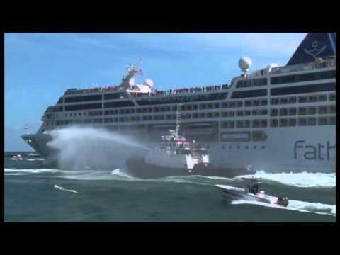 Llega a Cuba primer crucero de EEUU en más de 50 años