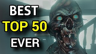 TOP 50 Phasmophobia SCARY Moments & Funny Moments - Best Montage