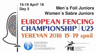 Day 03 2018 European fencing championships U23 - Finals