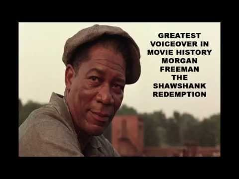 The Shawshank Redemption Entire Morgan Freeman Voiceover (Edited)