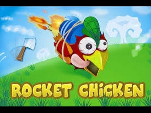 Rocket Chicken (Fly Without Wings) iPhone/iPad GamePlay