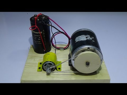 How to make Free Energy Generator  from DC motor 100% Real Ideas New Technology