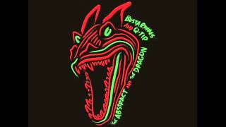Q-Tip ft Busta Rhymes - Get Down (The Abstract & The Dragon) (New Music January 2014)