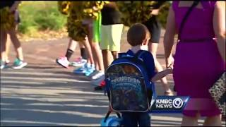 Kindergarteners get red carpet treatment at Shawnee school