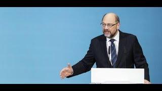 Martin Schulz hoch erfreut: