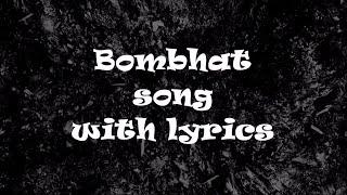 Bombhaat Full Song {lyrics}   Lie   Nithiin , Megha Akash   Mani Sharma