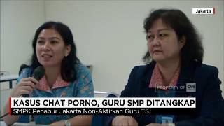 Kasus Chat Porno, Guru SMP Ditangkap