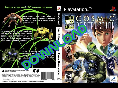 Ben 10 Ultimate Alien Cosmic Destruction | PS2 | DOWNLOAD