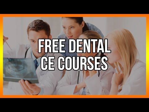 Free Dental CE Courses