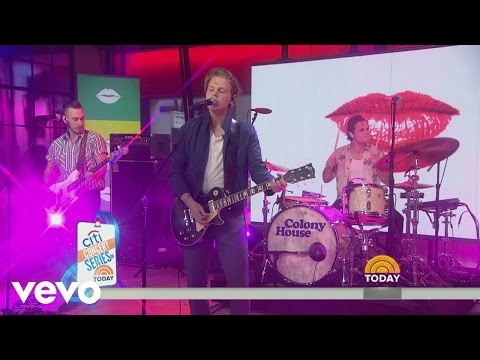 Colony House - You Know It (Live On the Today Show)