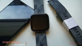 Fitbit Versa 2 Spatial Edition unboxing and Full review - How to set up Fitbit Versa 2