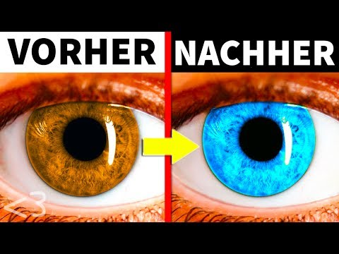 DIESER TRICK ÄNDERT DEINE AUGENFARBE FÜR IMMER! - KÖRPER LIFE HACKS