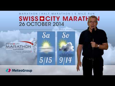SwissCityMarathon - Lucerne 2014 - Wetterprognose 2