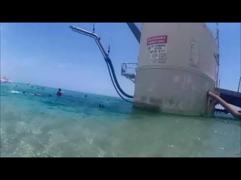 Palm Beach Inlet Diving At The Pump House